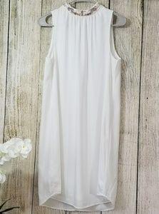 H&M white sleeveless dress NWT